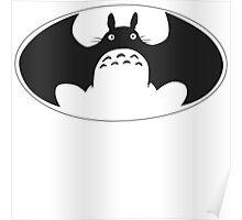 Totoro bat Poster