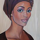 """African  Beauty"" (SOLD) by Tatyana Binovskaya"