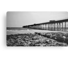 Queens Pier, Ramsey Metal Print