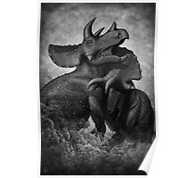 Beasts of Combat: Triceratops Poster