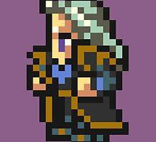 Setzer Gabbiani sprite - FFRK - Final Fantasy VI (FF6) by Deezer509