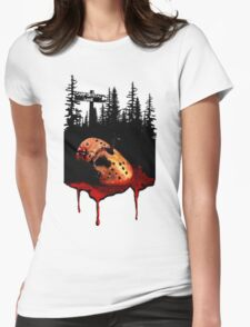 Jason Voorhees Womens Fitted T-Shirt
