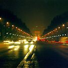 Night lights, Paris  by Alberto  DeJesus