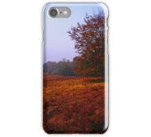 Autumn Field iPhone Case/Skin