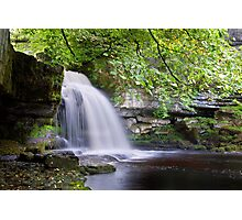 West Burton Falls II Photographic Print