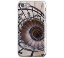 Metal spiral staircase iPhone Case/Skin