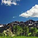 Wasatch Mountains, Big Cottonwood Canyon by Ryan Houston
