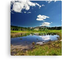 Willow Heights Lake, Utah Canvas Print