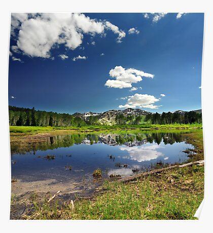 Willow Heights Lake, Utah Poster