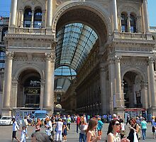 Plaza Vittorio Emanuele in Milan  by Imagery