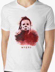 Myers Mens V-Neck T-Shirt