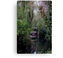Water-scape 6 Canvas Print
