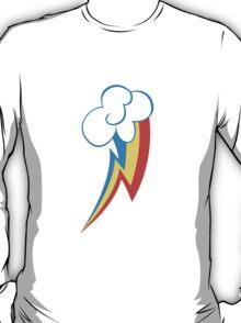 Rainbow Dash Cutie Mark (Medium icon) - My Little Pony Friendship is Magic T-Shirt