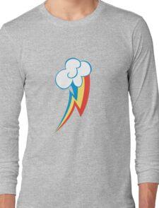 Rainbow Dash Cutie Mark (Medium icon) - My Little Pony Friendship is Magic Long Sleeve T-Shirt