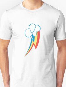 Rainbow Dash Cutie Mark (Medium icon) - My Little Pony Friendship is Magic Unisex T-Shirt