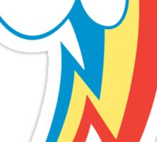 Rainbow Dash Cutie Mark (Medium icon) - My Little Pony Friendship is Magic Sticker