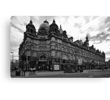 Leeds City Markets Canvas Print