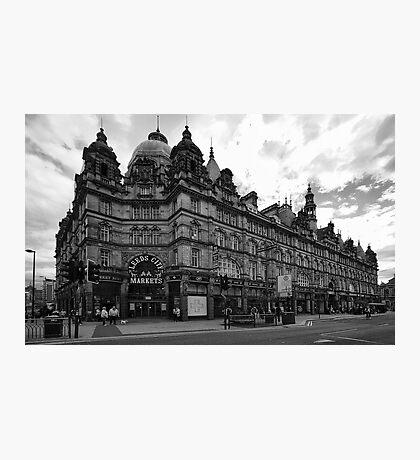 Leeds City Markets Photographic Print