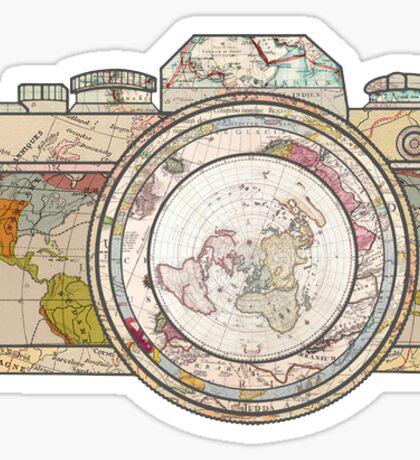 world camera Sticker