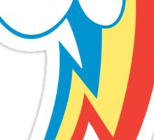Rainbow Dash Cutie Mark (small icon) - My Little Pony Friendship is Magic Sticker