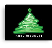 Merry Christmas and Happy Holidays! IT, Software Engineers, System Engineers, Hackers, Geeks  Canvas Print
