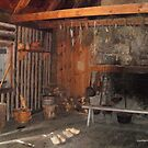 Rectory Fireplace, Ste. Marie Among the Iroquois by linmarie
