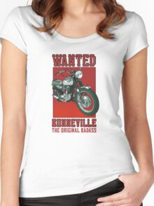 Triumph Bonneville Women's Fitted Scoop T-Shirt