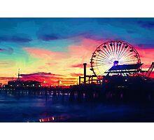 Sunset Opera at the Beach Photographic Print