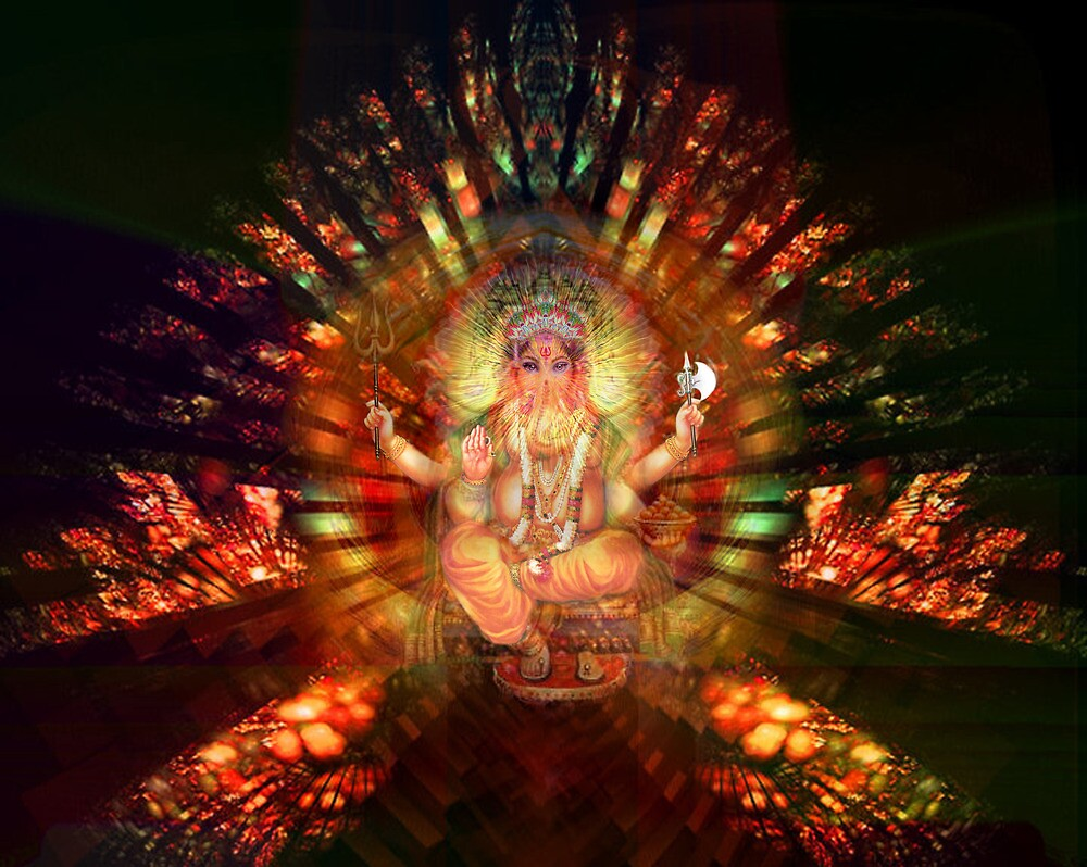 Ganesh the remover of obstacles by Bill Brouard