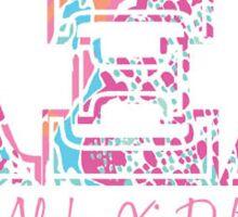 Alpha Xi Delta Lily  Sticker