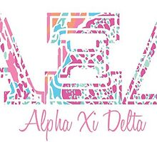 Alpha Xi Delta Lily  by linnnna