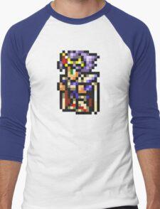 Cecil Harvey (PLD) sprite - FFRK - Final Fantasy IV (FF4) Men's Baseball ¾ T-Shirt