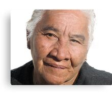 Old women - pride, beauty and dignity of the people in the tropics - señora grande - orgullosa, bonita con dignidad Metal Print