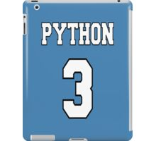 Python 3 - White on Blue Design for Python Programmers iPad Case/Skin