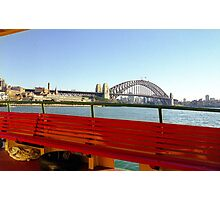Harbour Ferry, Sydney Photographic Print