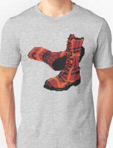 Rock Shoes - Pixel art T-Shirt