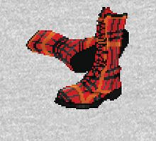 Rock Shoes - Pixel art Unisex T-Shirt