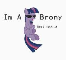 I'm a Brony Deal with it. (Twilight Sparkle) - My little Pony Friendship is Magic One Piece - Long Sleeve