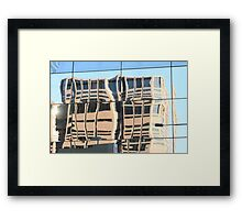 Distorted Framed Print