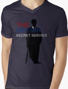 Mycroft Holmes- British Secret Service Mens V-Neck T-Shirt