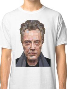 CHRISTOPHER WALKEN SUICIDE KINGS GRAPHIC ART PORTRAIT T SHIRT Classic T-Shirt