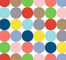 colorful circles of color in pastel by pASob-dESIGN