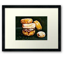 Sugar High...Doughnuts.. Framed Print