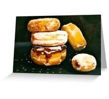Sugar High...Doughnuts.. Greeting Card