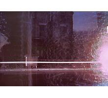 13 Chesterton Road / Light Streak on Old House and Melted Snow Photographic Print
