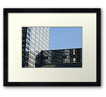 L Windows Framed Print