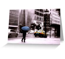 Chicago Street Greeting Card