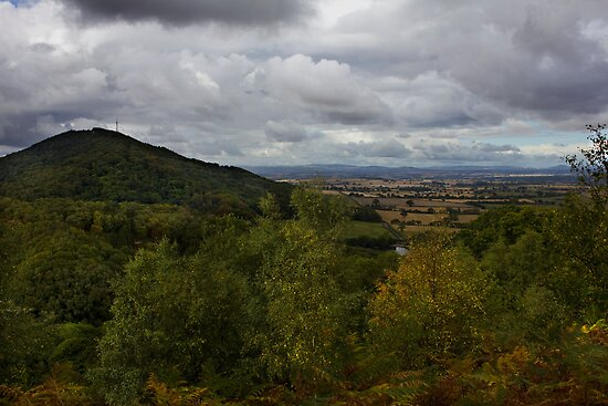 The Wrekin Viewed From The Ercall by Darren Burroughs