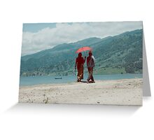 Love is such a beautiful feeling Greeting Card