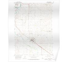USGS Topo Map Idaho Parma 237565 1965 24000 Poster